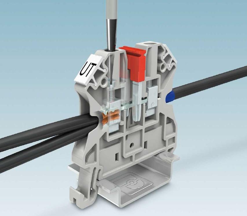 螺钉接线端子1000V UT系列