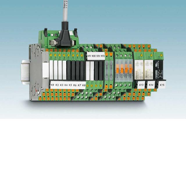 超薄继电器PLC